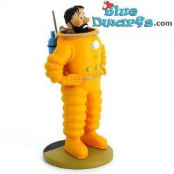 """Statue tintin:  """"Tintin Captain Haddock Cosmonaute"""" (Moulinsart)"""