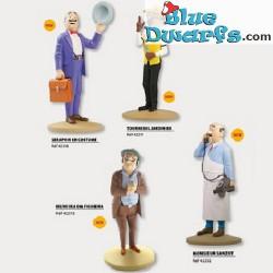 """Statue tintin: """"4x Tintin figurine"""" (Moulinsart/ 2017)"""