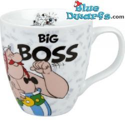 """Asterix und Obelix Tasse: """"Big boss"""" (0,40L)"""