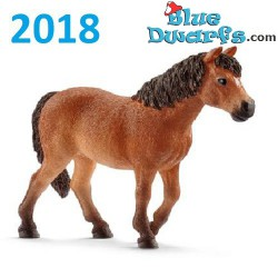 Cavalli Schleich 2018:  Giumenta Dartmoor-Pony (Farmworld: 13873)