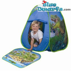 Dinosaurs: Tent+ play mat + 2 figurines  (Schleich/ 77072)