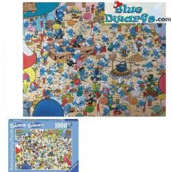 Schlumpfige Abenteuer Puzzles: Das Schlumpfdorf *Ravensburger*