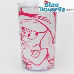5 x smurfette cup (plastic)