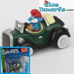 Papa Smurf *Diecast racer* (+/- 3.5 x1.6 x 4.3 cm)
