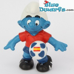 20790- 20793: 2016 New Soccer Smurfs UEFA Euro 2016 in France smurfs