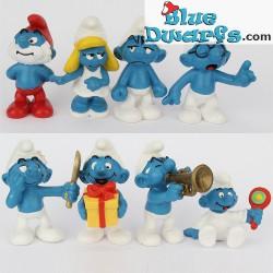 20533-20540 (2005): Classic smurfs set