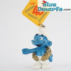 20058: Champion Smurf *40* (keyring)