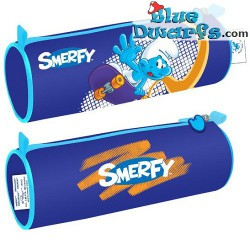 """Smurf etui """"Smerfy"""" (+/- 21x7cm)"""