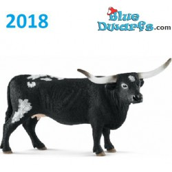 Schleich animals 2018: Texas Longhorn cow (13865)