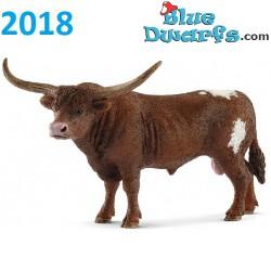 Schleich animals 2018: Texas Longhorn cow (13865)
