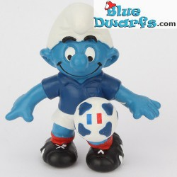 20791: France soccer smurf UEFA Euro 2016 in France smurfs