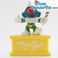 20090: Schlumpf Clown *The Candy Store* (Podeste)