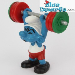 20737: Weightlifter Smurf (Olympic 2012)
