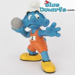 20742: Shotputter Smurf (Olympic 2012)