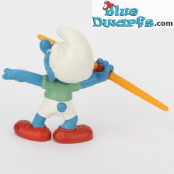 20744: Javelin Thrower Smurf (Olympic 2012)