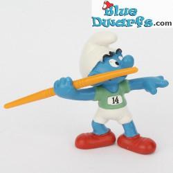 20744: Javelin Thrower Smurf (Olympic 2012)
