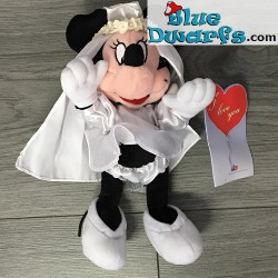 Plush: Minnie Mouse bride (+/- 25 cm)