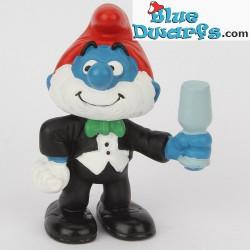 2.0706: Papa Smurf tuxedo (Jubilee 2008)