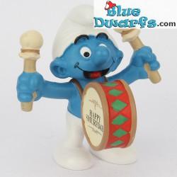 20707: Drummer Smurf  (Jubilee 2008)