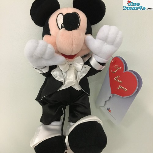 Plush: Mickey Mouse bride (+/- 25 cm)