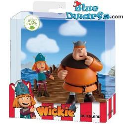 Wickie el Vikingo playset  (Bullyland, +/- 7cm)
