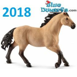Schleich Horses 2018: Quarter horse stallion (13853)