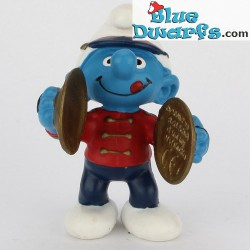 20495: Smurf with cymbals (Band 2002)