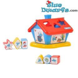 Plastic smurf house (+/- 22 x 20 x 20 cm)