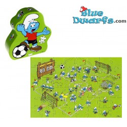 Smurf soccer puzzle 48 pieces