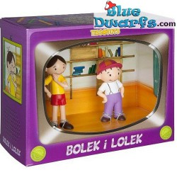 Bolek and Lolek playset (Tissotoys, +/- 7cm)