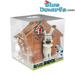 Asterix and Obelix: Idefix moneybox (Plastoy, +/- 7x7x8cm)