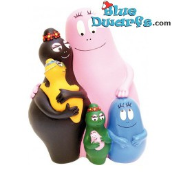 Plastoy moneybbox Barbapapa family (Nr. 80010)