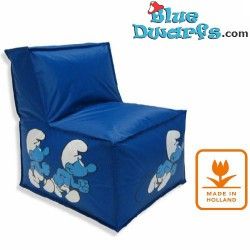 Sit and Enjoy pillow Smurf in airplane (90x110 cm)
