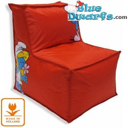 Sit and Enjoy pillow Smurf *Smurfette* (42x50x55 cm)