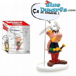 Asterix mit Schild: Ça m'énerve (Plastoy 2017)