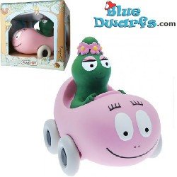 Barbalala in barbapapa car (moneybox)