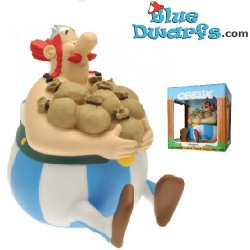 Asterix and Obelix: Obelix with money bag moneybox (Plastoy,+/- 20cm)