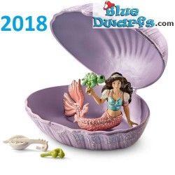Bayala: Schleich mermaid in shell with turtle (70562/ 2018)