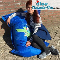 Sit and Joy pillow Smurf in airplane (90x110 cm)