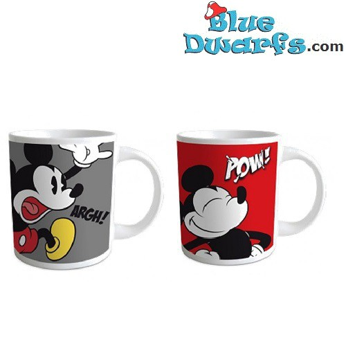 Mickey Mouse Tasse : 2x mickey mouse tasse 320 ml bluedwarfs ~ A.2002-acura-tl-radio.info Haus und Dekorationen