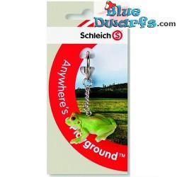 Schleich Animals: Frog keyring (Schleich/  82881)