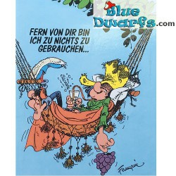 Postcard Gomer Goof: Fern von dir (15 x 10,5 cm)