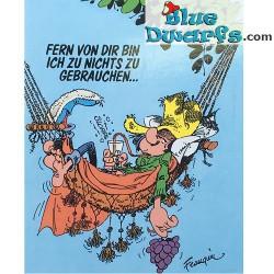 Postkarte Gaston: Fern von dir (15 x 10,5 cm)