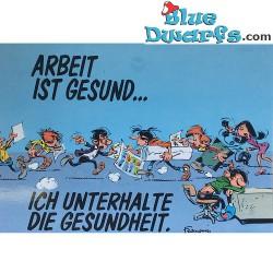 Postcard Gomer Goof: Arbeit ist gesund... (15 x 10,5 cm)