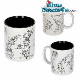Asterix and Obelix mug: Asterix sketched (SD Toys)