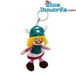 Plush: Wickie the Viking keyring (+/-13cm)