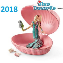 Bayala: Schleich mermaid in shell with seal cub (70564/ 2018)