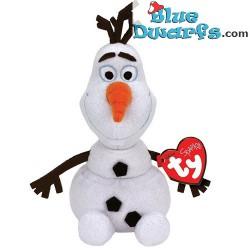 Knuffel: Frozen Olaf met giechelend geluid (+/- 34 cm)