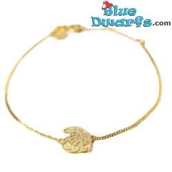 Smurfette necklace yellow Oopsy Daisy  (Diamanti per Tutti +/- 40cm)