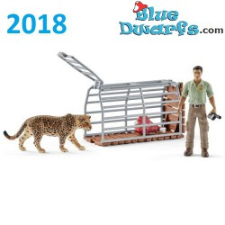 Schleich Wildlife 2018: Ranger and Indian rhinoceros starter set (42428)